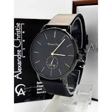Jam Tangan Alexandre Christie Cowok jam tangan alexandre christie ac 8486 ms fblyl pria classic elevenia