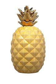 home essentials and beyond large yellow pineapple decor