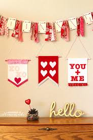 valentines banner s day felt wall banners happiness is