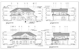 floor plan and elevation drawings house plan elevation drawings modernitectural how to draw