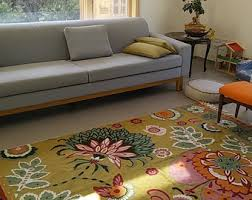 lime green area rug etsy