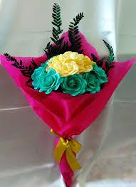 cara membuat bunga dari kertas pita jepang bunga pita satin bukan cuma cantik tapi kamu bisa buat sendiri