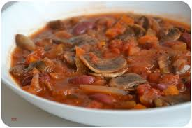 cuisiner des haricots rouges secs ragoût de haricots rouges champignons et riz plat végé ddcuisine