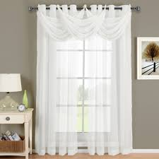 White Sheer Curtains Abri White Sheer Curtain Panel For The Trendy Bed