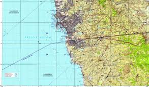 Map Of San Diego by Download Topographic Map In Area Of San Diego Tijuana Chula