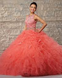 quinceanera dresses coral 2 quinceanera dresses gowns shoulder coral beige
