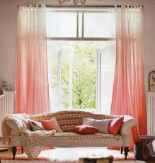 Coral Sheer Curtains Coral Sheer Curtains And Best 20 Ombre Curtains Ideas