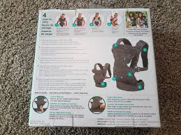 position siege bebe ventre infantino flip advanced baby carrier with original packaging and