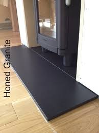 honed granite hearth hearth pads pinterest granite hearth