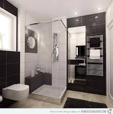 Modern Bathrooms 20 Sleek Ideas For Modern Black And White Bathrooms Home Design