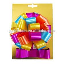 plastic ribbon christmas ribbon plastic ribbon bow material fancy glitter