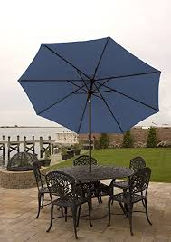 Patio Umbrella Frame Patio Umbrella For Table 9 Ft With Aluminum Frame