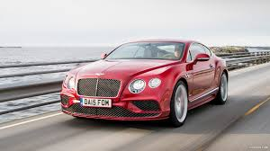 bentley red 2016 bentley continental gt speed coupe candy red front hd