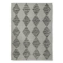 Grey Striped Rug Over Tufted Shag Stripe Area Rug Nate Berkus Target