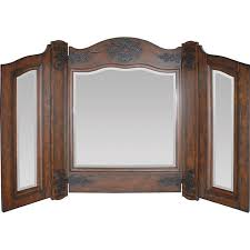 Tri Fold Bathroom Mirror by Tri Mirror For Dresser Traditional Bathroom Mirrors Tri Fold Wall