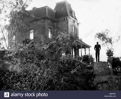 anthony perkins u0026 bates house psycho 1960 stock photo royalty