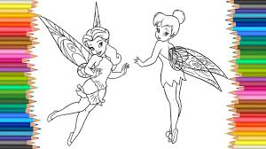coloring pages disney fairies l tinkerbell rosetta coloring book l