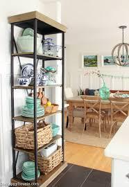 coastal cottage style spring kitchen tour the happy housie