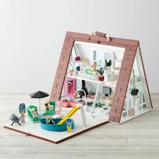 Dolls House Furniture Sets A Frame Dollhouse Deluxe Set The Land Of Nod