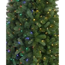 artificial christmas tree time pre lit 7 5 norwich spruce artificial christmas tree