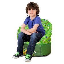 teenage mutant ninja turtles toddler bean bag chair green