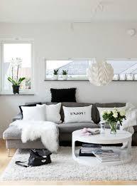 Black And White Living Room Decor White On White Living Room Decorating Ideas With Exemplary Best
