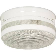 Large Drum Light Fixture by Nuvo 77 099 2 Light 10