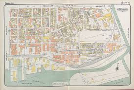 Duke Campus Map Goad U0027s Atlas Of The City Of Toronto Fire Insurance Maps From The