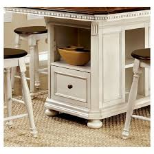 Sun  Pine Pc Country Storage Counter Height Table Set Cherry - Counter height kitchen table with storage