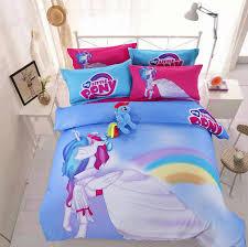 My Little Pony Duvet Cover Blue My Little Pony Princess Cadance Cotton Bedding Sets My Little