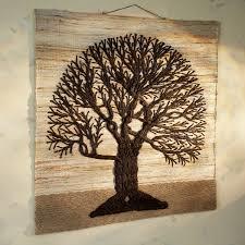 jute tree of wall hanging