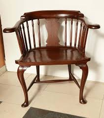 Antique Captains Chair Rare Mahogany Captain U0027s Chair For Sale At 1stdibs