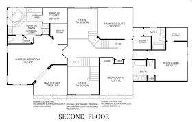 new england colonial home floor plans