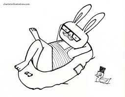 charlotte illustrations swim
