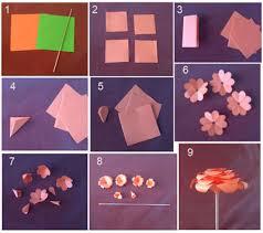 membuat hiasan bunga dari kertas lipat hiasan bunga mawar dari kertas origami dan cara membuatnya kreasi