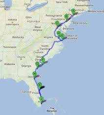 map your usa road trip road trip along the east coast of usa road trippin east coast