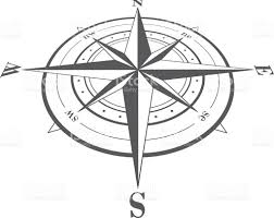 compass rose isolated on white stock vector art 532020381 istock