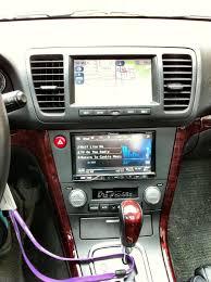 subaru legacy custom interior dual hvac double din kit completed install thread subaru legacy