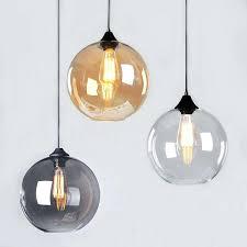 Pendant Lights Glass Ceiling Pendant Lighting 6 Light Polished Nickel Crystal Clear