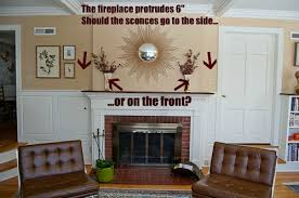 Fireplace Brick Stain by Instead Of Cleaning Or Painting Brick Stain Your Brick Fireplace