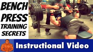 Bench Press Breathing Man Up U0026 Master The Bench Press How To Lift More Weight Youtube