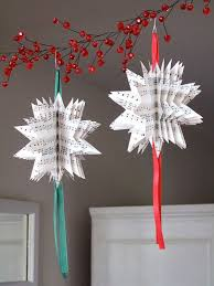 paper craft for home decoration easy outdoor christmas decorating ideas how to diy ornament dress