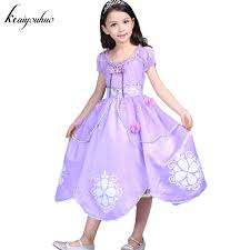 sofia the dress keaiyouhuo 2017 summer sofia dress for princess dress girl