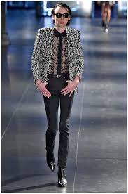 saint laurent fall winter 2015 menswear collection