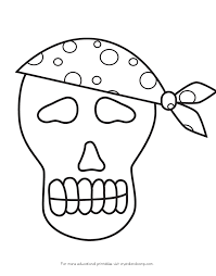 pirate skeleton coloring hicoloringpages coloring