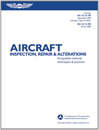 aircraft inspection repair u0026 alterations acceptable methods
