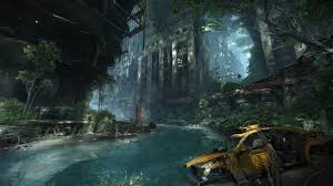 water video games crysis destroyed abandoned city abandoned crysis