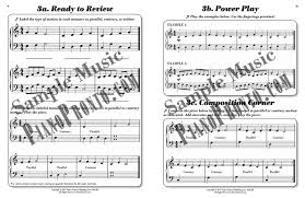 movement 1 power pages hardcopy workbook piano pronto