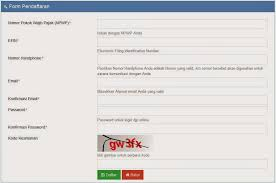 petunjuk membuat npwp online cara daftar efiling pajak 2018 siapkan efin pajak pajakbro com