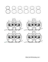 free printable valentine themed math worksheets 1 10
